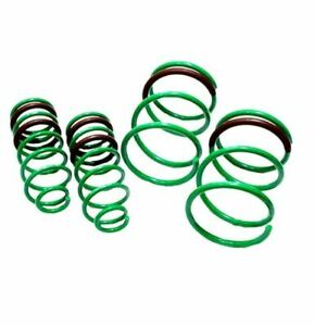 Tein For 1995-2004 Chevy Cavalier S-Tech Front and Rear Coil Springs SKG90-AUB00