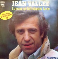 "Eurovision BELGIUM 1978 JEAN VALLEE L'Amour Ca Fait Chanter La Vie  7"" single"
