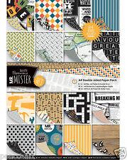 Docrafts Papermania A4 papier Mr Mister 24 feuille paquet 160g/m² Fête des pères