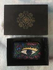 Sylvia Toledano Swarkovski Crystal Eyeball clutch with box