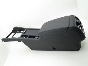 VW Passat 3G B8 Console Centrale Accoudoir Avant Cuir Fois Noir