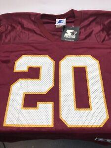 Vintage Starter Skip Hicks Washington Redskins Size 46 Jersey NFL
