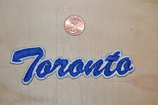 "Toronto Maple Leafs 4 1/2"" Patch Wordmark Script Hockey"