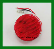 """Dual Function (High and Low) 2-1/2""""  Red 6 LED Sealed Light"""