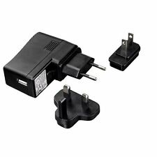 Hama Travel USB Adapter Charger 2.1A UK, EU and US Plugs - Phones,Tablets etc