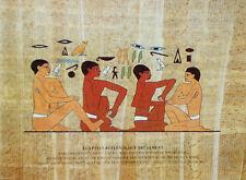 EGYPTIAN REFLEXOLOGY TREATMENT POSTER ... A4  Laminated