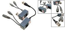 2 pc Pair Video & Audio & Power Balun Triple Transceiver BNC RJ45 UTP CCTV x2pc