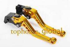 For Honda Grom MSX125 14-17/ CBR250R 11-13 Short Clutch Brake Levers CNC Gold US