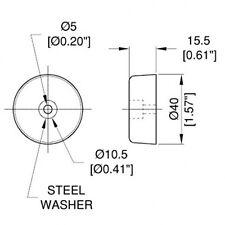 Amplificador de pies de goma (F1686)