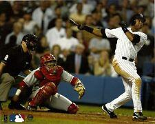 BERNIE WILLIAMS 8x10 (2002 ALDS Game 1 HR @ Yankee Stadium) Steiner Action Photo