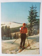 Colorvox Schallplatte DDR Winterliche Grüsse Weisse Weihnacht Tonpostkarte