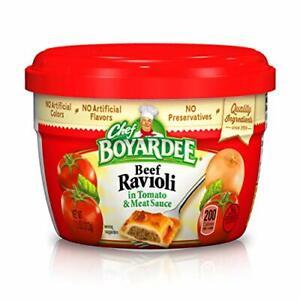 Chef Boyardee Beef in Tomato & Meat Sauce Ravioli, 7.5 Oz. [Pack of 12]