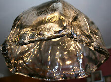 Brutalist  Deckenlampe Ceiling Lamp  Murano Kalmar Iceglass Eisglas Shade