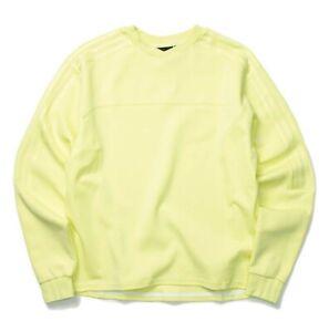 Adidas  IVY PARK 4ALL CREW Sweatshirt Yellow/Tint (Size Large)