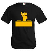 buXsbaum®  T-Shirt DJ-Piktogramm