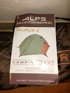 ALPS Taurus 2 Backpacking Lightweight Small Two Person Tent NEW NWT
