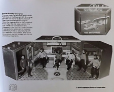 Star Trek Prop* 2 Mego 1974 Star Trek Uss Enterprise Playset advertisement print