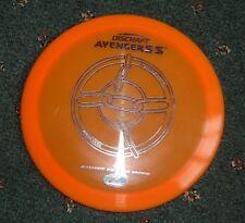 Nos Vintage Discraft Avenger Ss Disc Max Distance Driver 173gms Orange