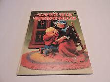 LITTLE RED RIDING HOOD Wolf PUPPET DOLLS Wonder books T IZAWA S HIJIKATA 1971