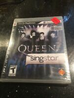 SingStar Queen (Sony PlayStation 3, 2009) Factory Sealed New