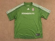 Adidas Climalite Seattle Sounders MLS Green Soccer Jersey / Shirt Men's XL