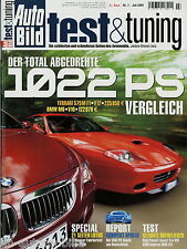Auto Bild test & tuning 7 05 2005 BMW M6 Ascari Brabus K4 Corvette C5 Irmscher 7