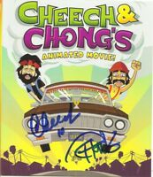 CHEECH & CHONG SIGNED ANIMATED MOVE BLURAY RARE!