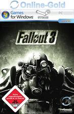 Fallout 3 Key - STEAM Digital Download Code - PC Standard Version USK18 [EU][DE]
