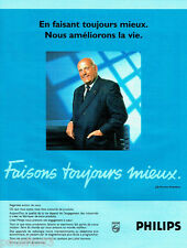PUBLICITE ADVERTISING 096  1995  Philips  Mr J.D Timmer Président  magnétoscope