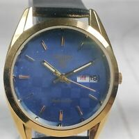 Vintage Seiko Automatic Movement,  Day, Date Dial Mens Analog Wrist Watch A220