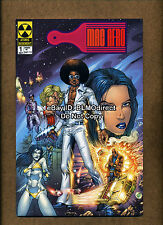 2001 Mac Afro And The Nebula Riders 1 Nm- Retailer Only Review Promo With Letter