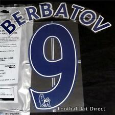 Manchester United Berbatov Name/Number Set Football Shirt Lextra 07-13 Blue Away