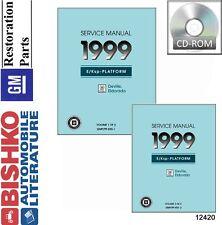 repair manuals literature for cadillac deville ebay rh ebay com service manual 1998 cadillac deville 2000 Cadillac Deville