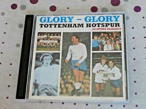 Glory Glory Tottenham Hotspur - 28 Spurs classics - CD - incl. Chas & Dave