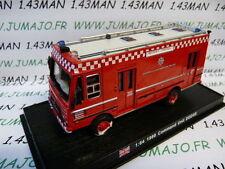 voiture 1/64 DEL PRADO Pompiers du Monde : UK Dodge Command Unit 1988