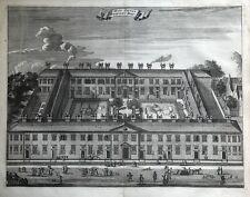 Amsterdam, karthuizerhof, huiszittenweduwenhof, Commelin antigua de impresión de 1693