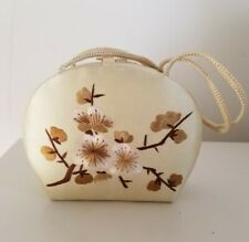 VINTAGE JAPANESE SILK EMBROIDERY CLUTCH