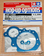 Tamiya 54269 M-06 Aluminum Gearbox Plate (M06/M06 Pro/M06R), NIP