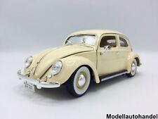 Burago - VW Käfer hellbeige 1955  - 1:18 Bburago
