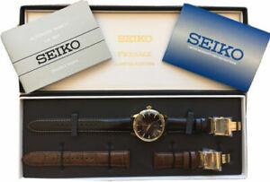 Seiko SSA392J1 Men's Presage Automatic Cocktail L/E Watch Set last One for Sale!
