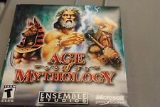 (PC CD-ROM) AGE OF MYTHOLOGY  (ENSEMBLE STUDIOS)  MICROSOFT GAMES