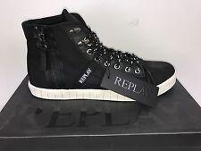 Coole Herren Sneaker REPLAY Bizard schwarz Gr. 43 Restposten UVP 130€ *NEU* SALE