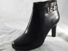 BANDOLINO (LAPPO LEATHER BLACK BOOTIE) WOMENS SIZE 11 NEW!!!