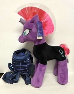My Little Pony MLP G4 Friendship Is Magic Build A Bear Tempest Shadow Plush