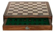 Penny Farthing Square Chess Set Wood Board Personalised 266