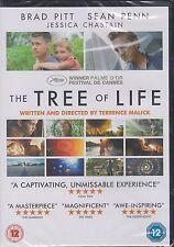 THE TREE OF LIFE - Brad Pitt, Sean Penn, Jessica Chastain (NEW/SEALED DVD 2011)
