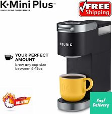 Keurig K-Mini Plus Single Serve K-Cup Coffee Maker, BLACK,HOT SALE 50%