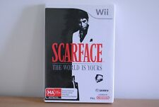 Scarface The World Is Yours nintendo wii gamer video game sega console ps4 xbox
