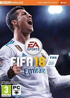 Fifa 18 (Calcio 2018) Digital Download [NO DISCO] PC IT IMPORT ELECTRONIC ARTS