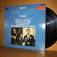 BACH / VIVALDI Concertos GIDON KREMER Vinyl LP Record DIGITAL Baroque MUSIC NM
